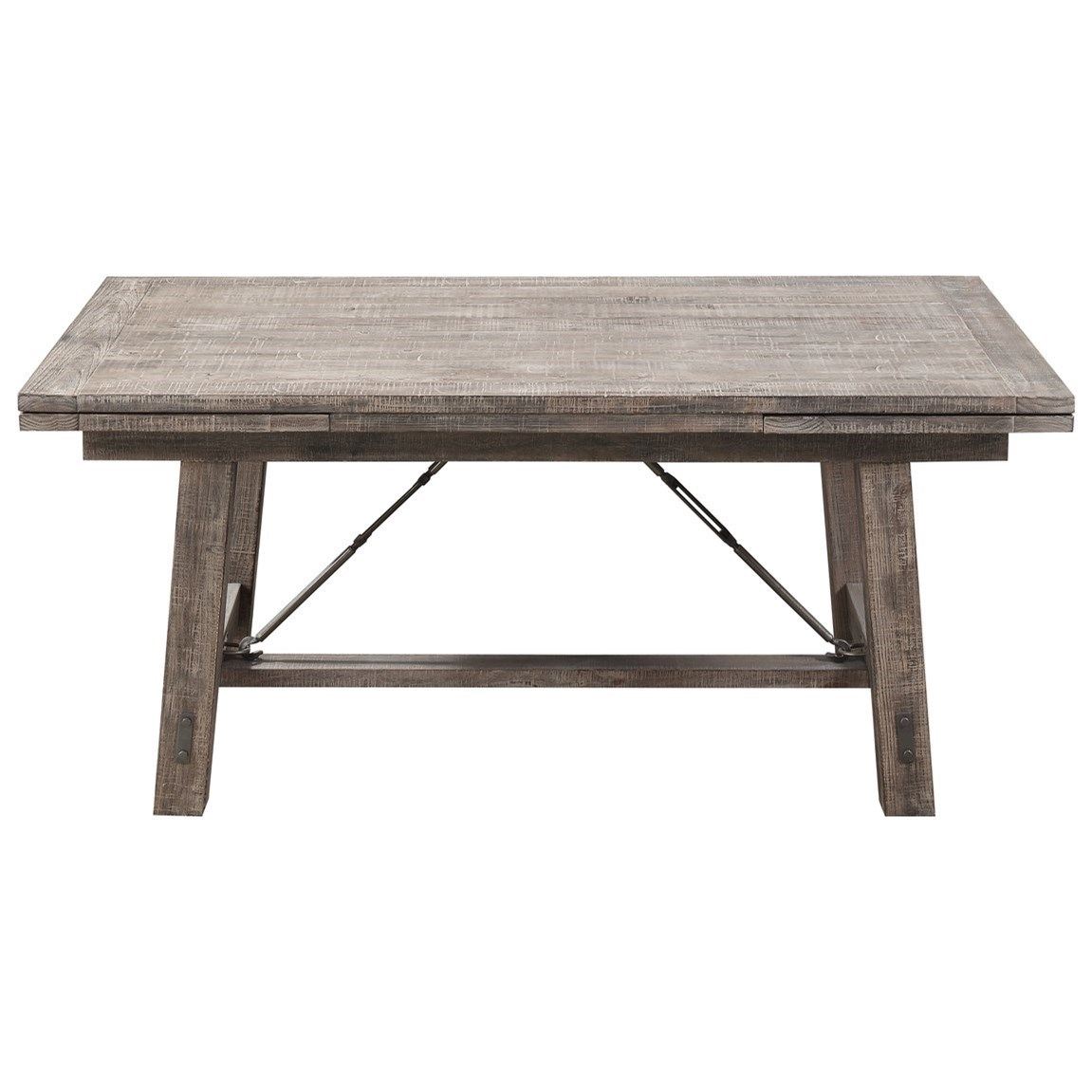 Dakota Refectory Trestle Dining Table by Emerald at Northeast Factory Direct