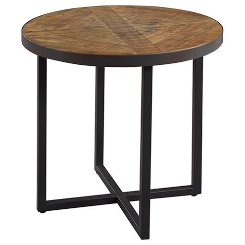 Denton Round End Table by Emerald at Suburban Furniture