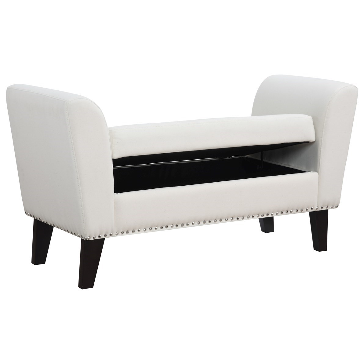 Diana Upholstered Storage Bench by Emerald at Michael Alan Furniture & Design