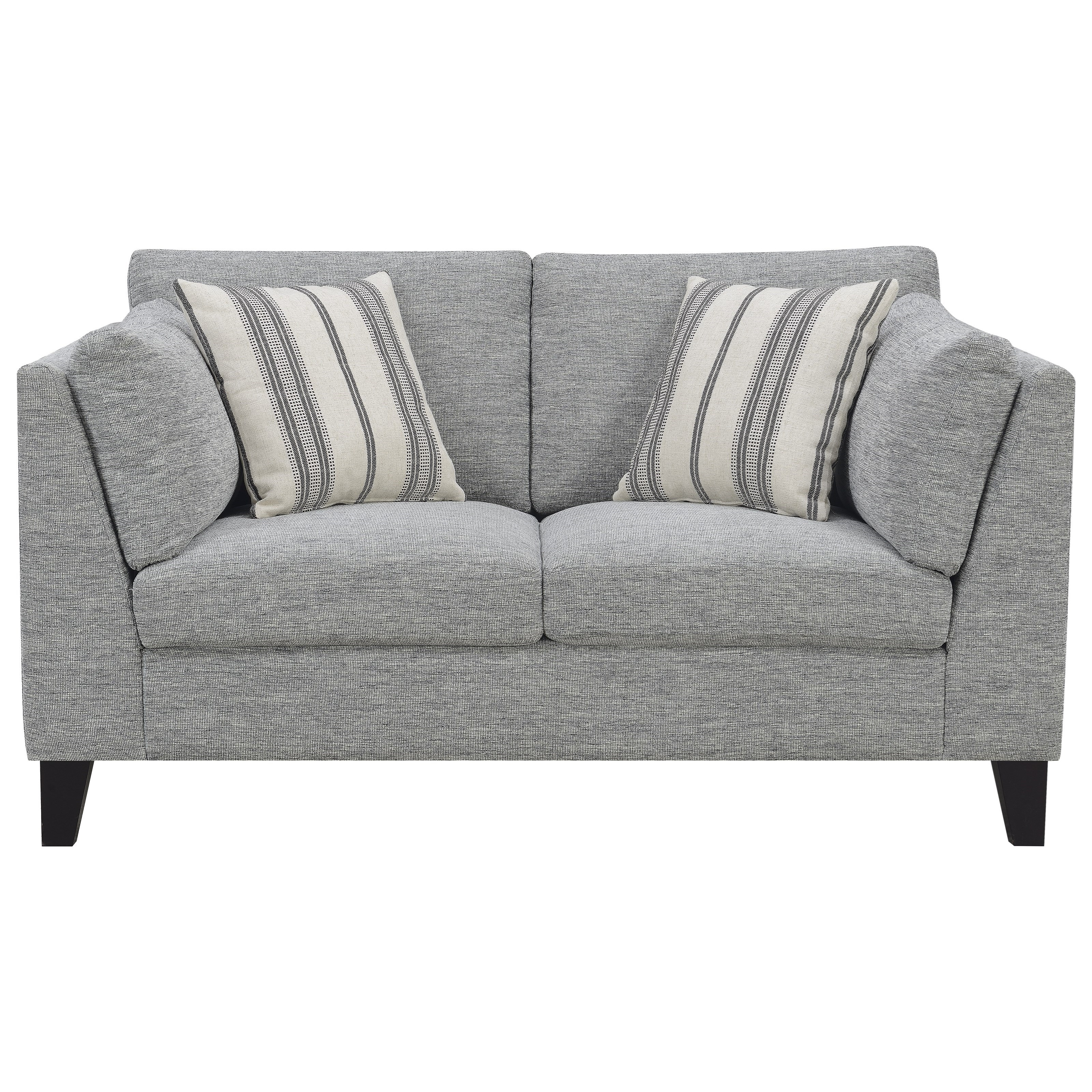 Elsbury Loveseat with 4 Accent Pillows by Emerald at Northeast Factory Direct