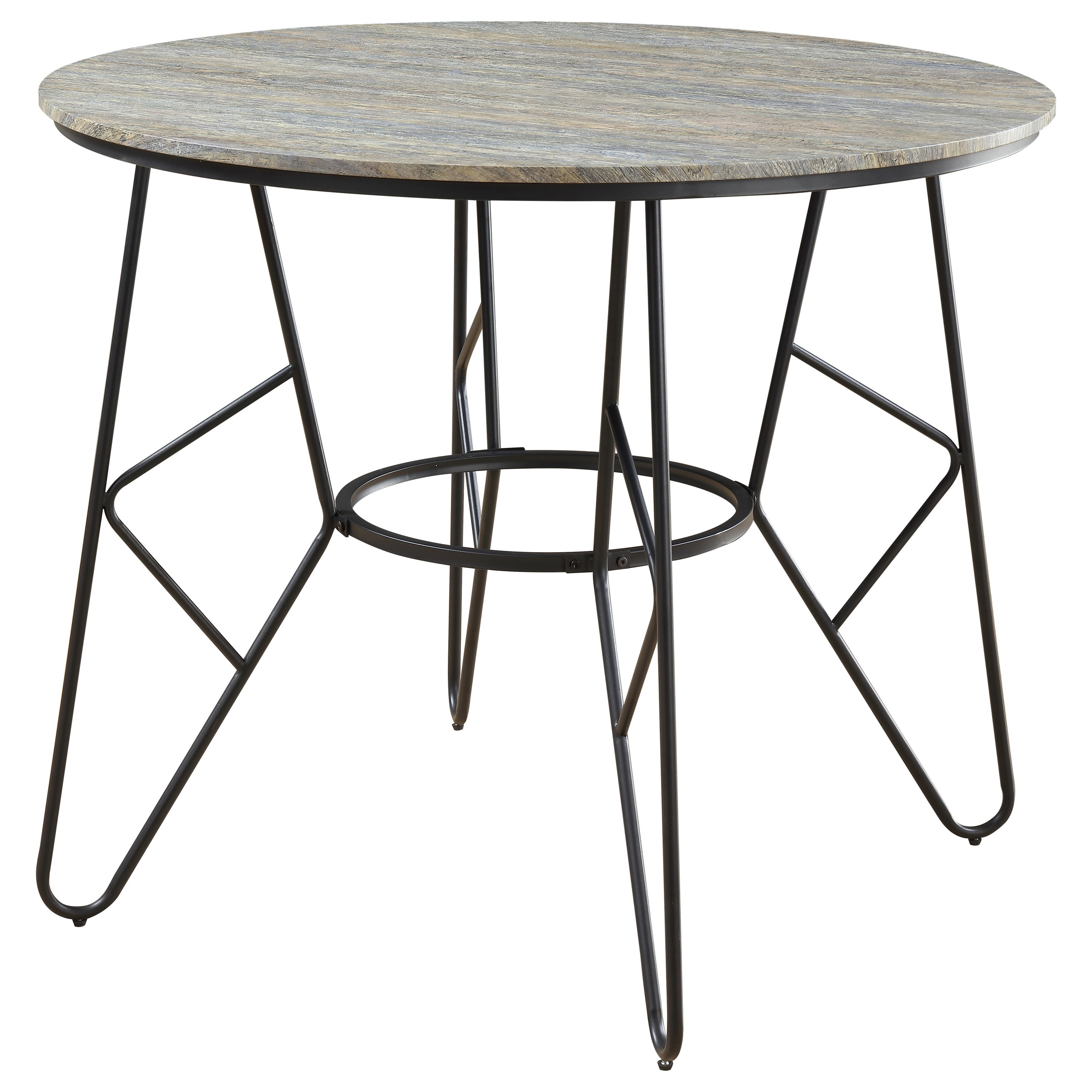 Emmett Round Counter Table by Emerald at Northeast Factory Direct