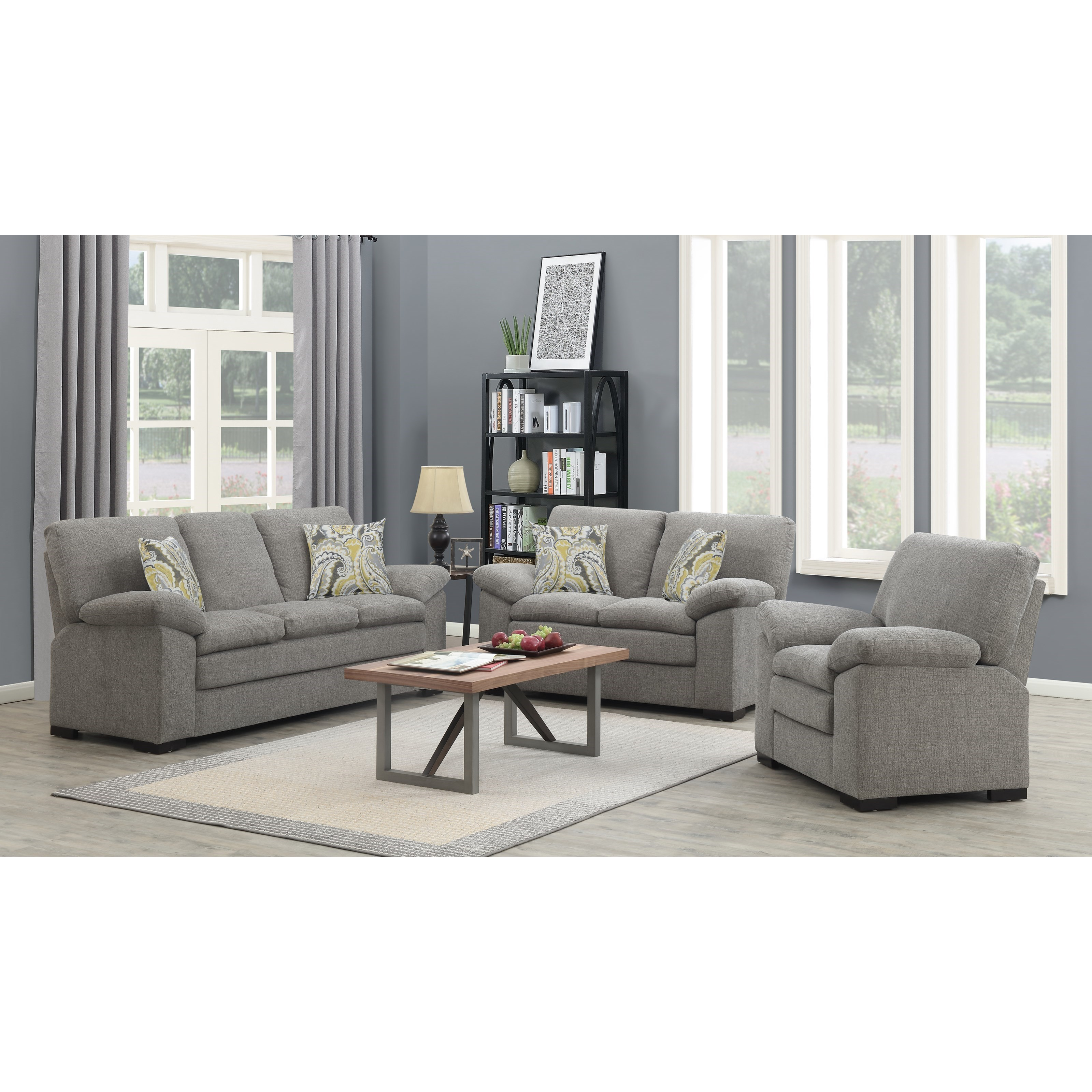 Grandview Living Room Group by Emerald at Suburban Furniture