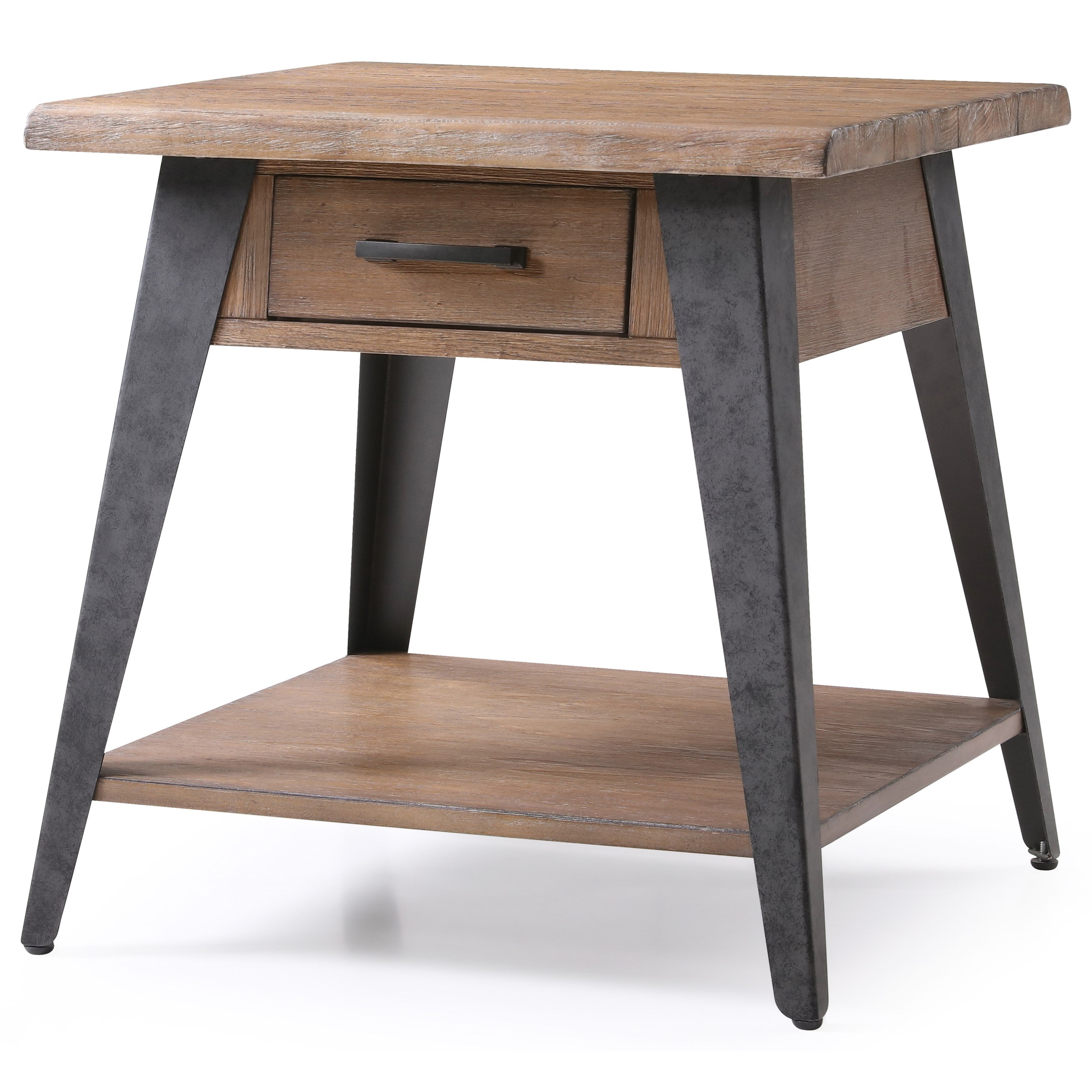 Harper's Mill End Table by Emerald at Northeast Factory Direct