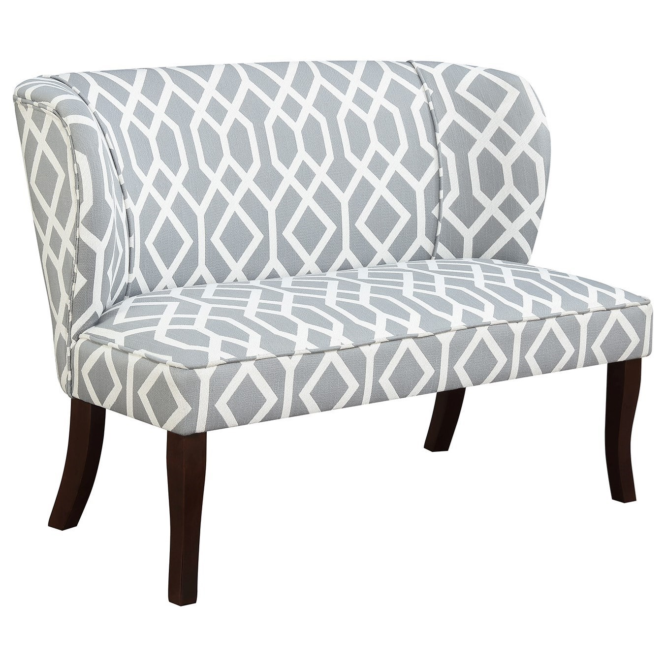 Hepburn Settee Accent Bench by Emerald at Northeast Factory Direct