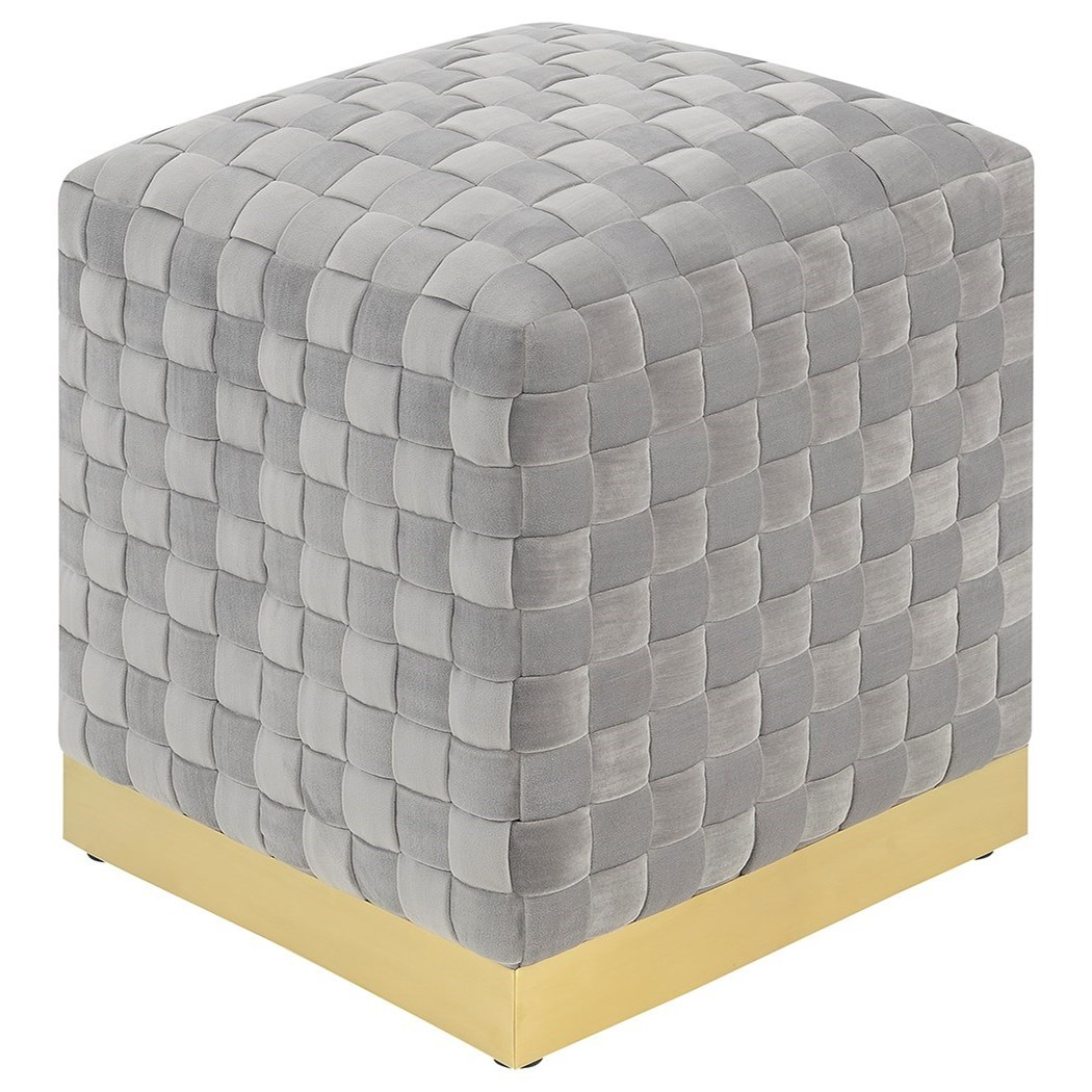 Jamison Cube Ottoman by Emerald at Northeast Factory Direct