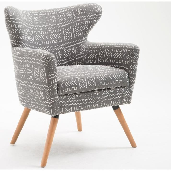 Janey Accent Chair at Sadler's Home Furnishings