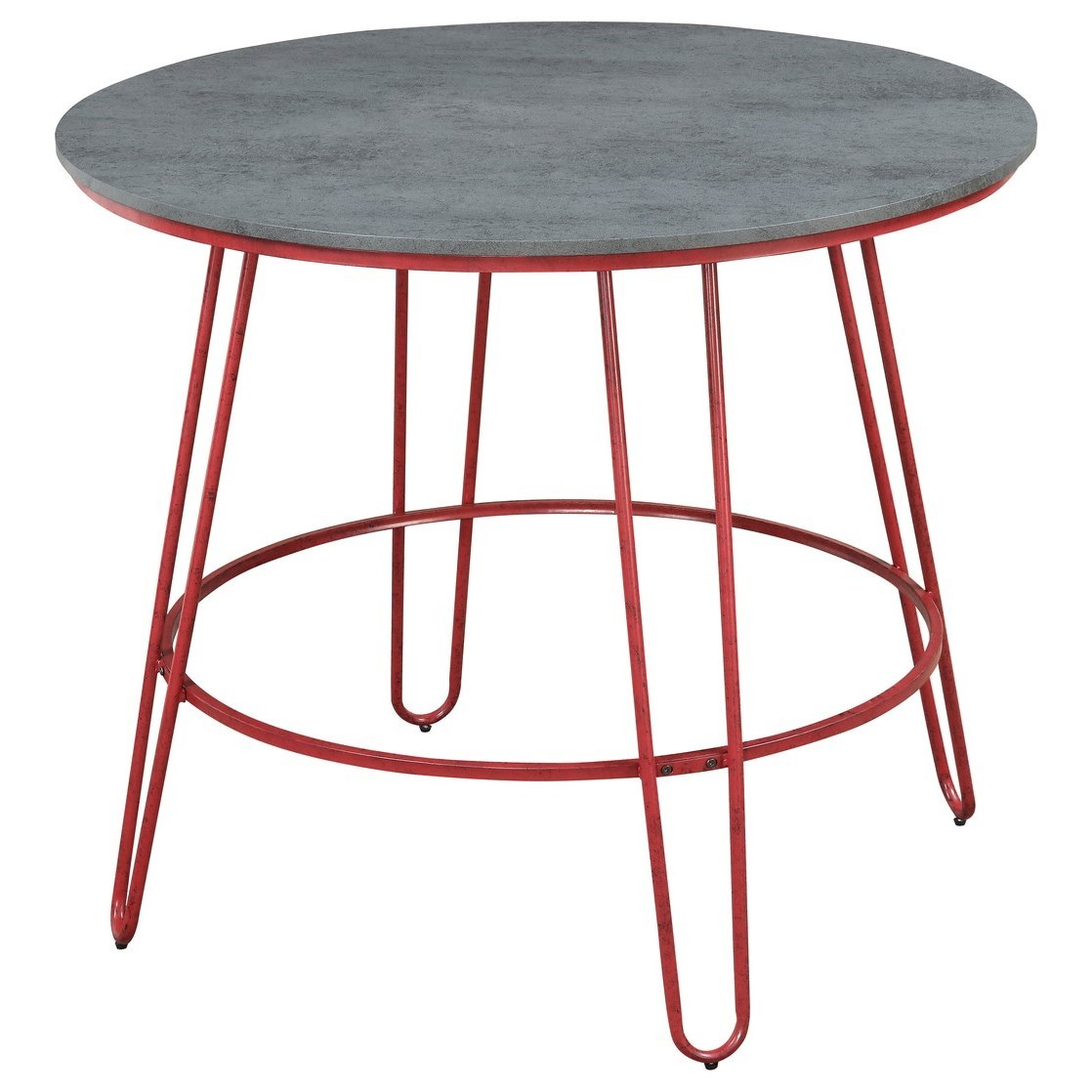 Langston 42'' Round Pub Table by Emerald at Northeast Factory Direct