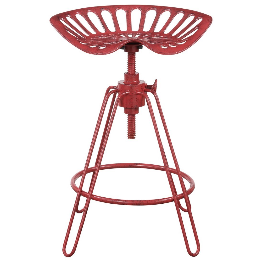 Langston 24'' Adjustable Height Barstool by Emerald at Northeast Factory Direct