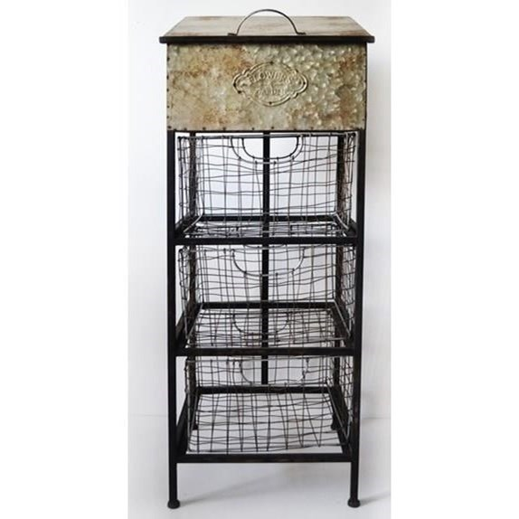 Lexington Accent Metal Cabinet by Emerald at Northeast Factory Direct