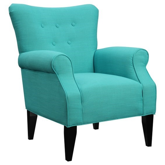 Lydia Upholstered Chair by Emerald at Northeast Factory Direct