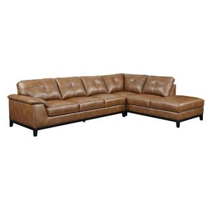 2 Piece Sectional Set with Tufting