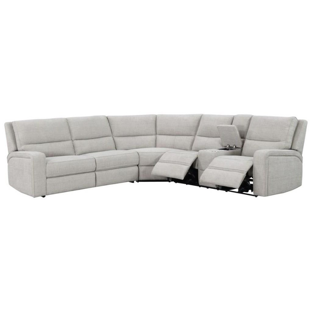 Medford 3-Piece Power Reclining Sleeper Sectional by Emerald at Northeast Factory Direct