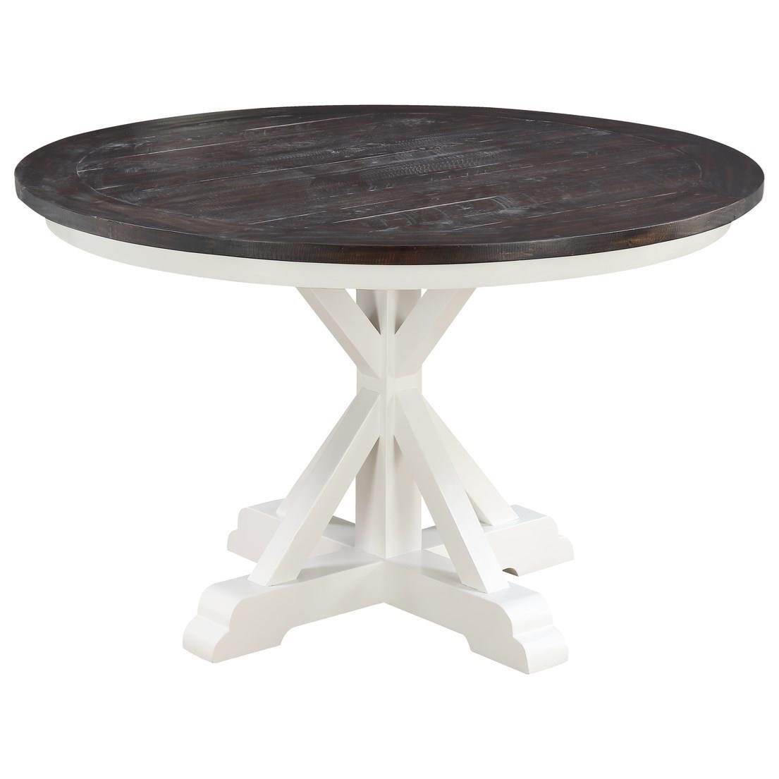"""Mountain Retreat 54"""" Round Dining Table by Emerald at Northeast Factory Direct"""