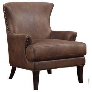 Accent Chair Dixon with Nailhead Trim