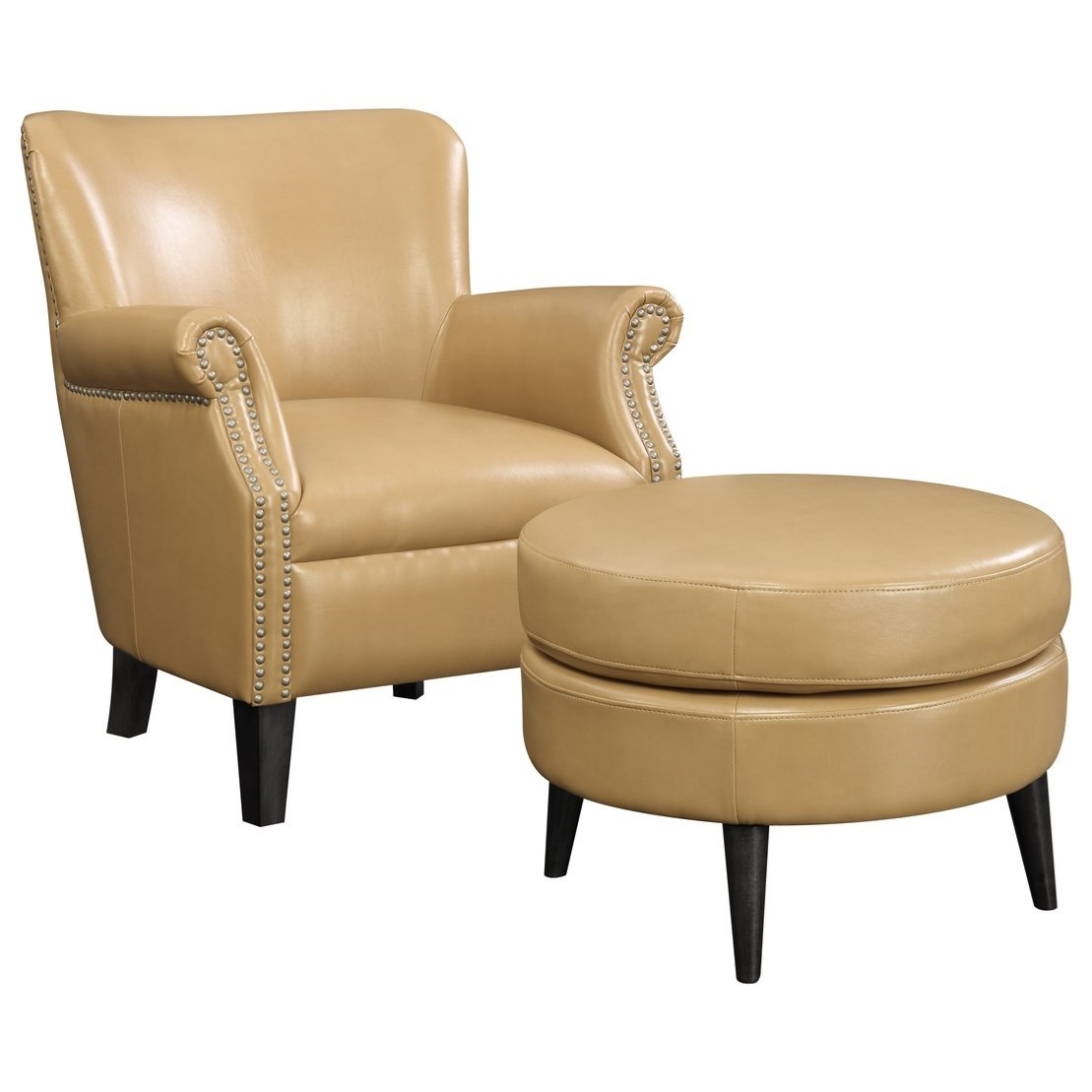 Oscar Accent Chair and Ottoman by Emerald at Northeast Factory Direct