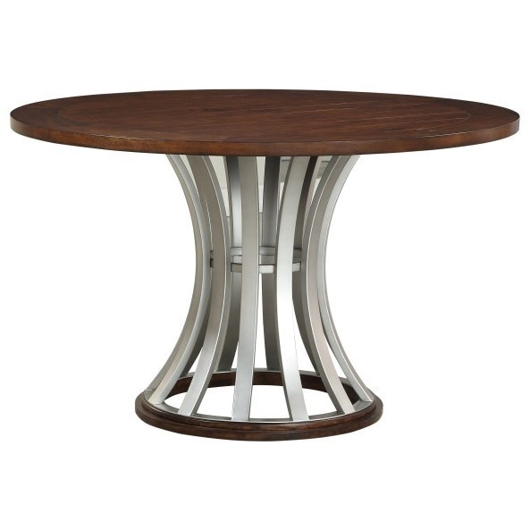 Oxford Hills Round Gathering Table by Emerald at Northeast Factory Direct