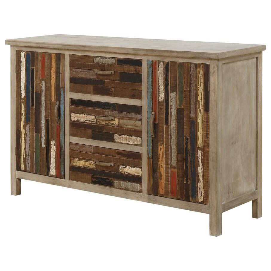 Pablo Accent Cabinet W/2 Doors 3 Drawers by Emerald at Northeast Factory Direct
