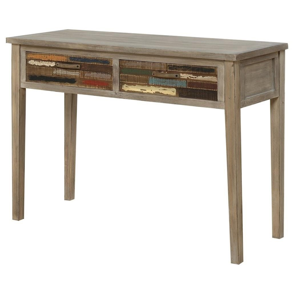 Pablo Console Table W/2 Drawers by Emerald at Northeast Factory Direct