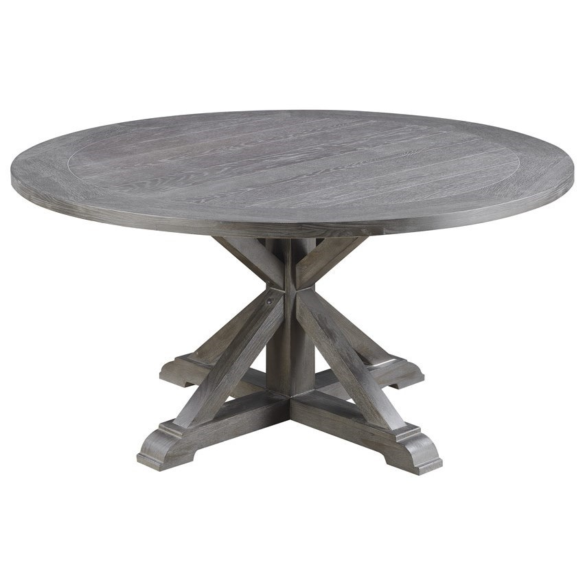 """Paladin 60"""" Round Dining Table by Emerald at Northeast Factory Direct"""