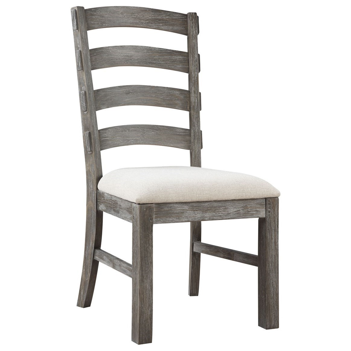 Paladin Slat Back Side Chair with Upholstered Seat by Emerald at Northeast Factory Direct