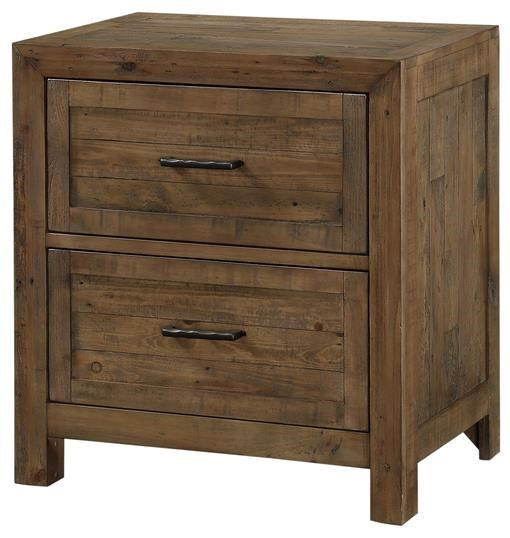 Pine Valley 2-Drawer Nightstand by Emerald at Northeast Factory Direct