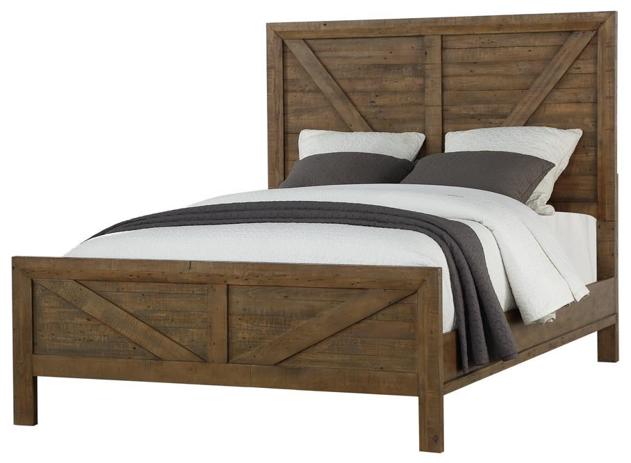Pine Valley King Panel Bed by Emerald at Northeast Factory Direct