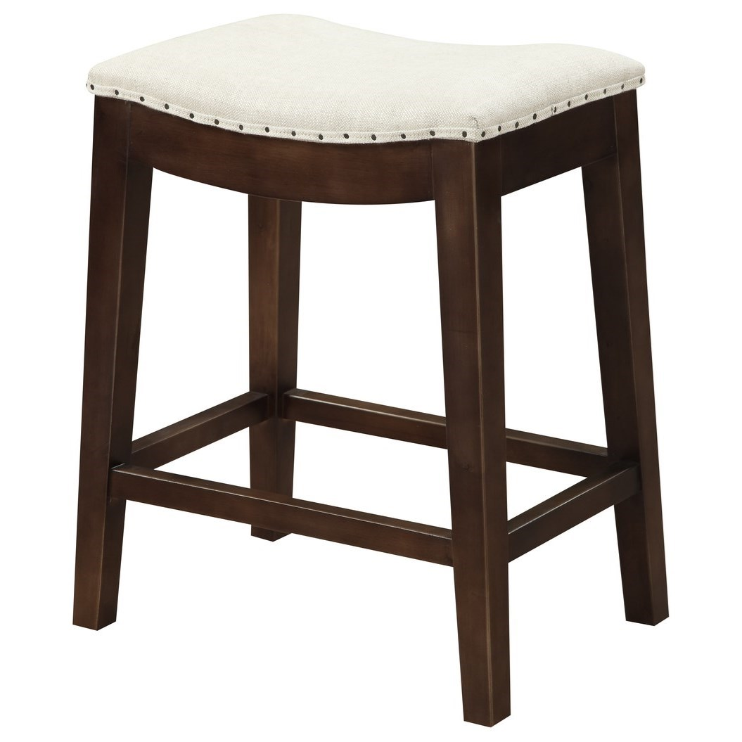 Rancho Counter Height Stool by Emerald at Northeast Factory Direct