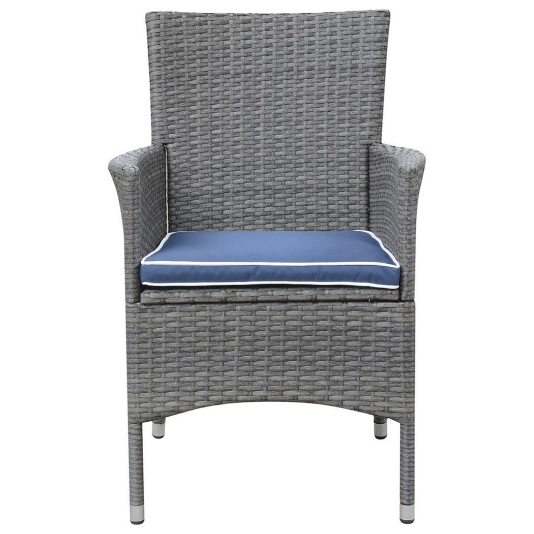Ridgemonte Upholstered Arm Chair by Emerald at Suburban Furniture