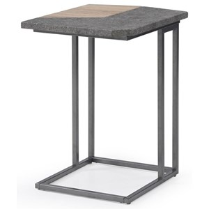 Modern Industrial Laptop Table
