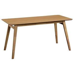 Rectangular Dining Table with Hardwood Splayed Legs