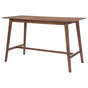 Mid-Century Modern Rectangular Gathering Height Table