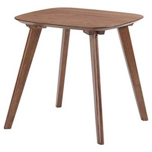 End Table with Rounded Edges