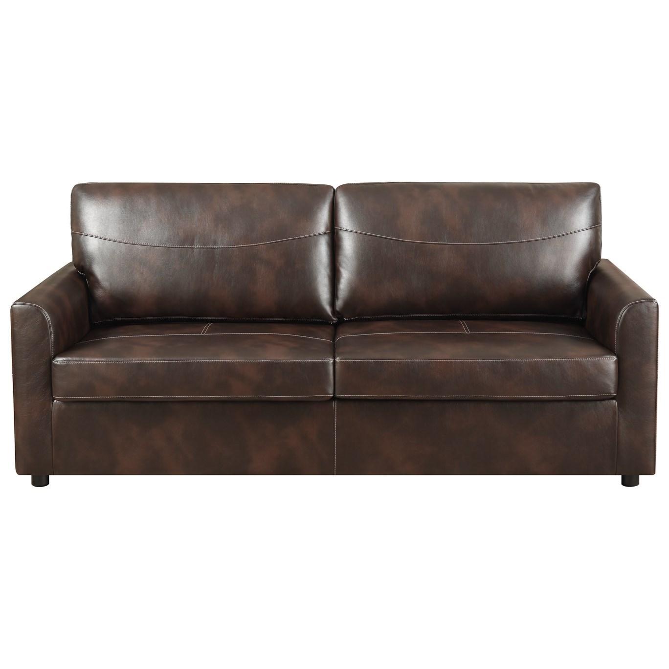 Slumber Full Sleeper Sofa w/ Gel Foam Mattress by Emerald at Suburban Furniture