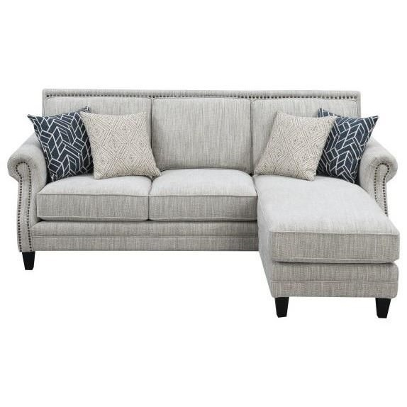 Trilogy Sofa Chaise by Emerald at Northeast Factory Direct