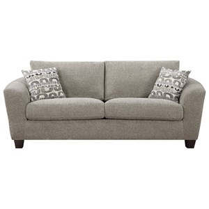 Sofa with Loose Pillow Back