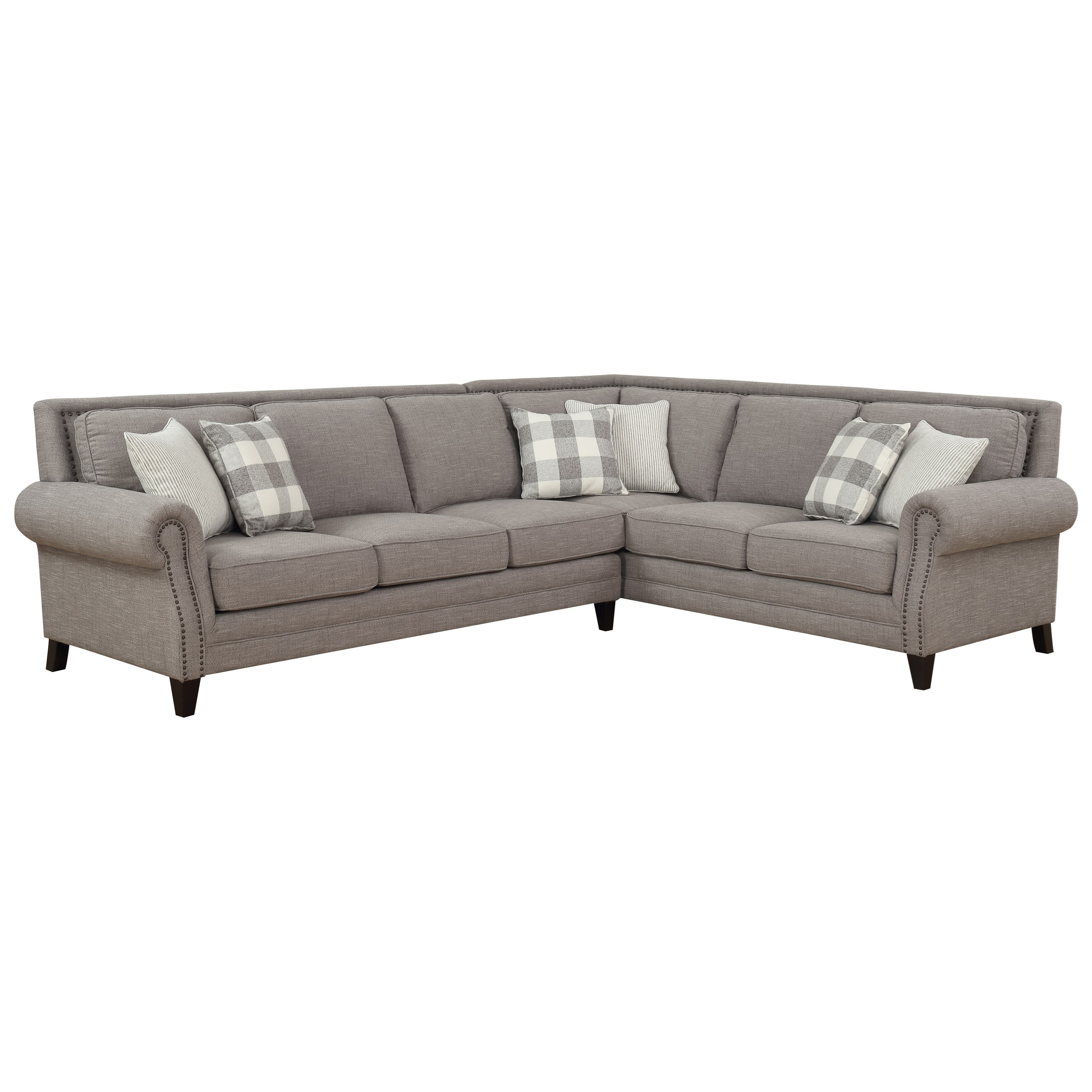 Willow Creek 2-Piece Sectional Sofa by Emerald at Northeast Factory Direct