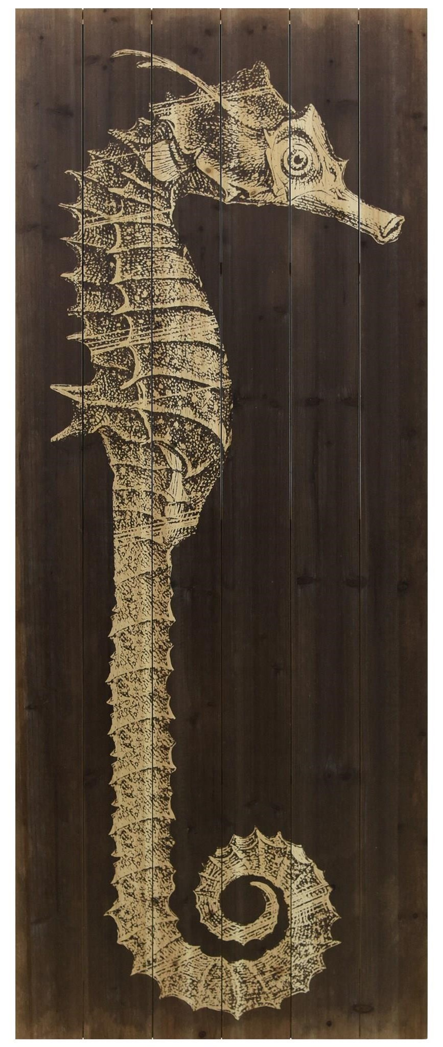 Accessories Seahorse A by Empire Art Direct at HomeWorld Furniture