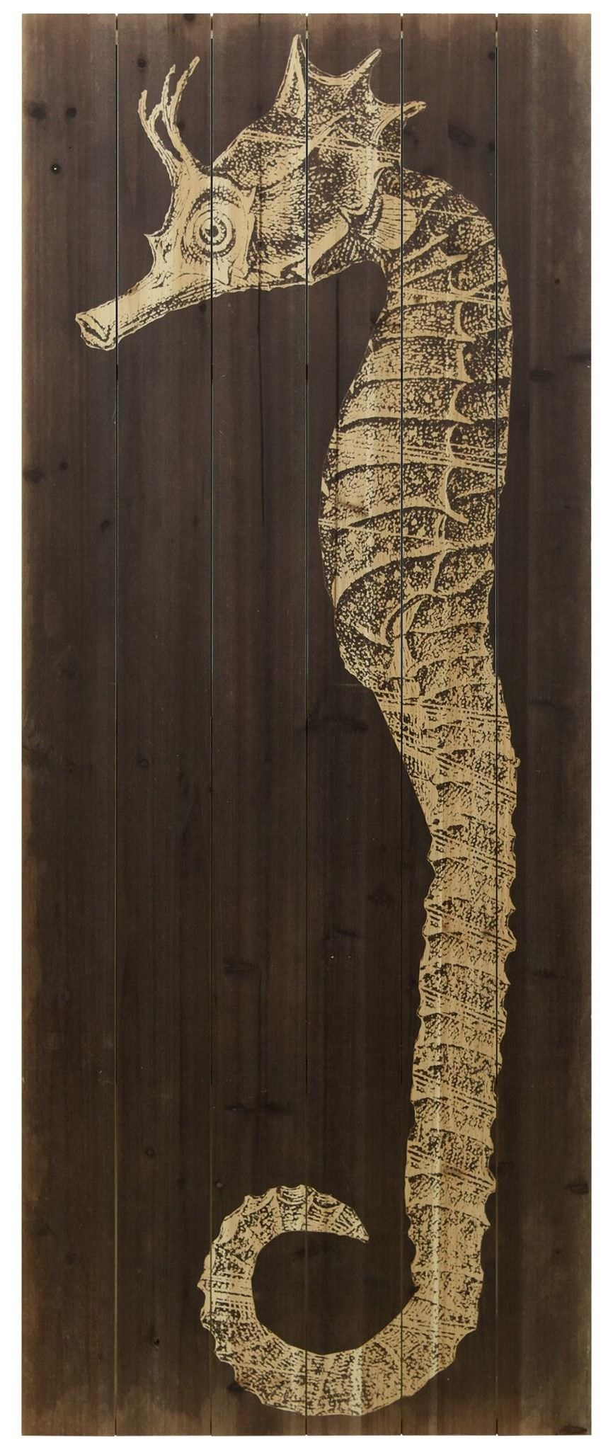 Accessories Seahorse B by Empire Art Direct at HomeWorld Furniture