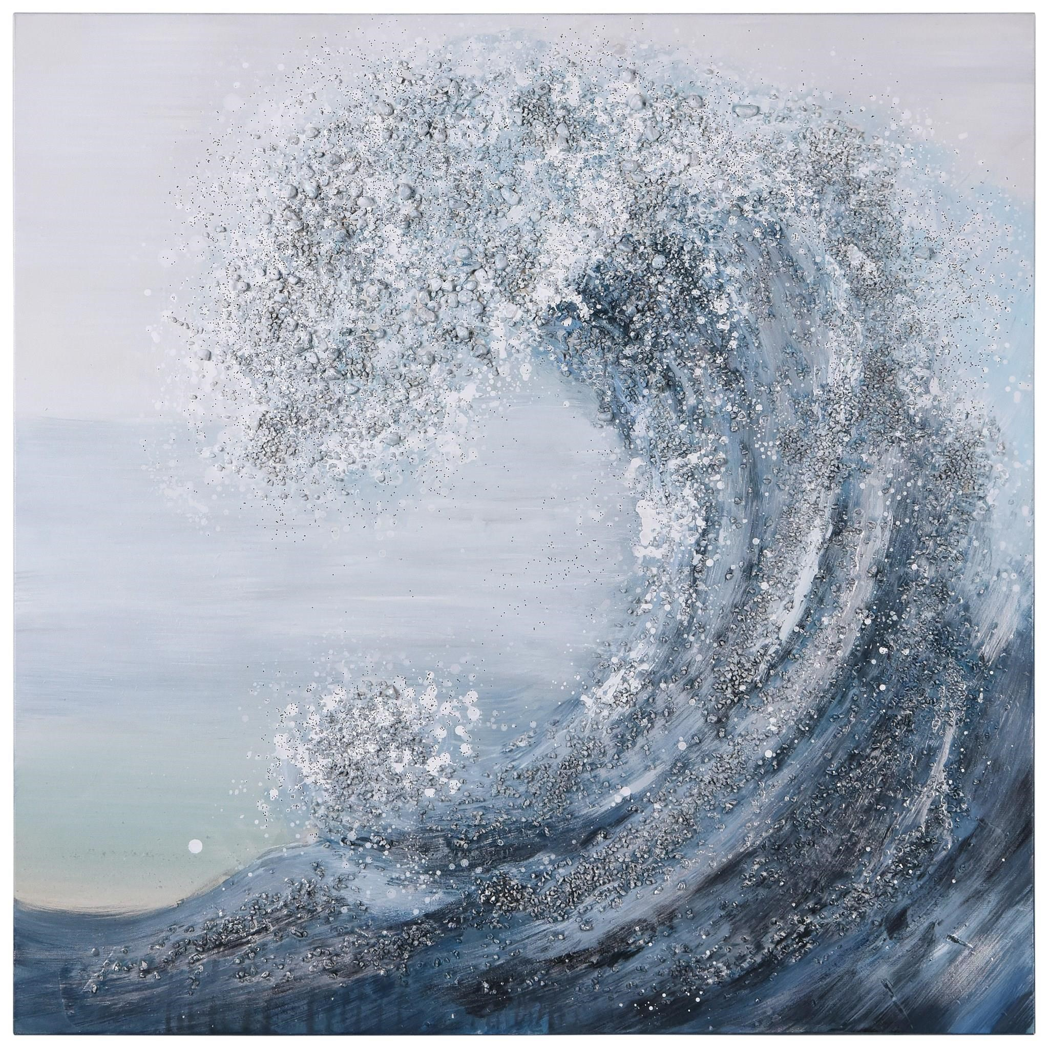 Accessories Crystal Wave by Empire Art Direct at Red Knot