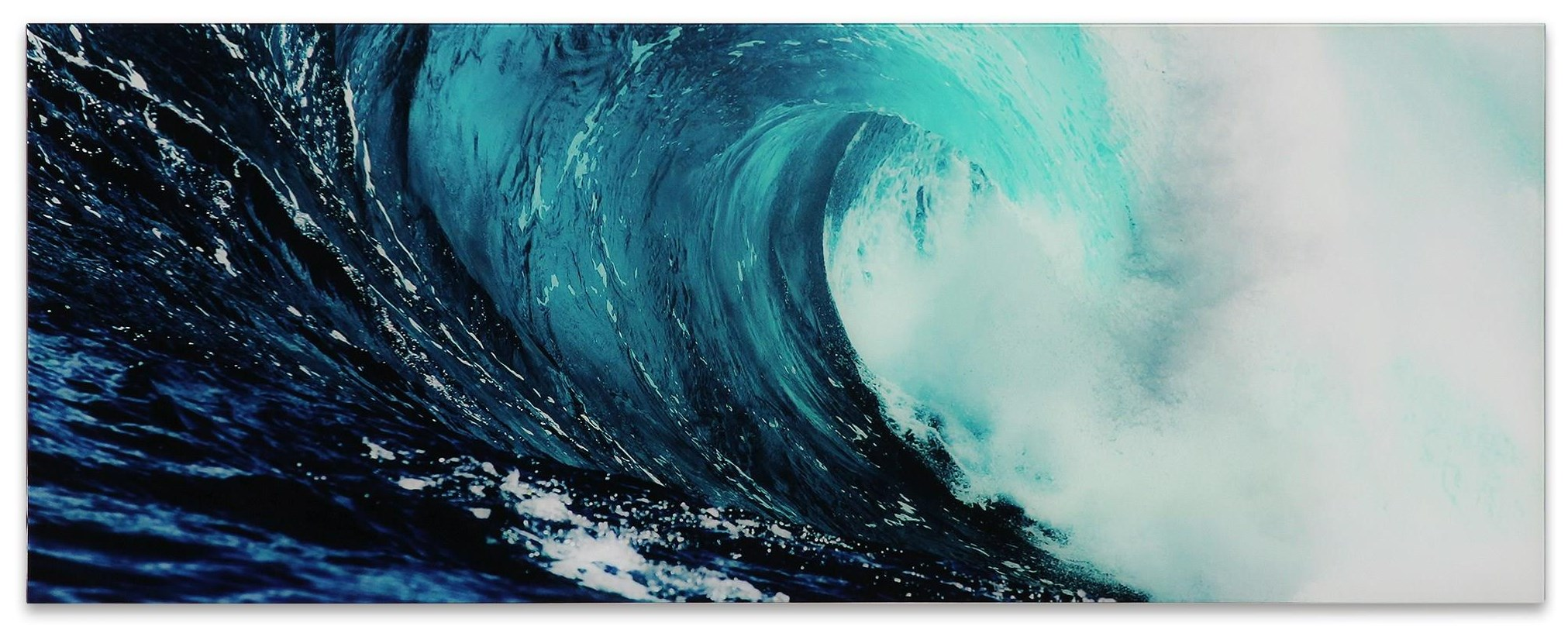 Accessories Blue Wave 2 by Empire Art Direct at HomeWorld Furniture