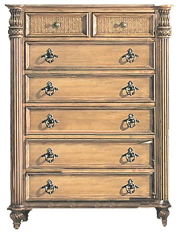 Key West Chest of Drawers by Endura Furniture at Baer's Furniture