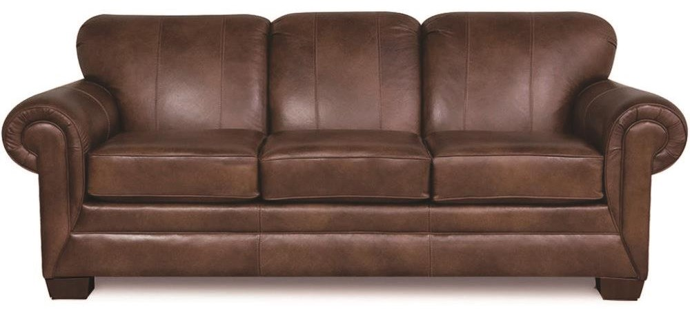 1435 100% Leather Sofa by England at Darvin Furniture