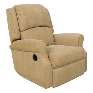 Comfortable Rocker Recliner with Power for Living Room Furniture Display