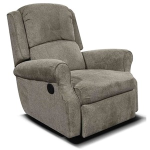 Comfortable Rocker Recliner for Living Room Furniture Display