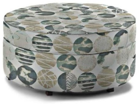Midtown Upholstered Storage Ottoman by England at Esprit Decor Home Furnishings