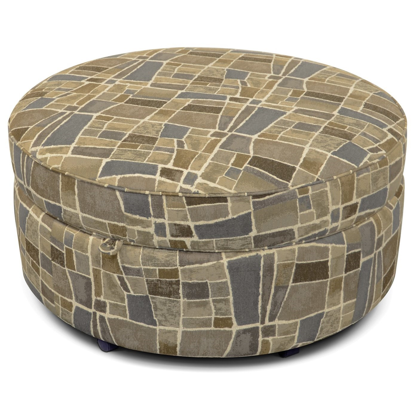 Midtown Upholstered Storage Ottoman by England at Furniture Superstore - Rochester, MN