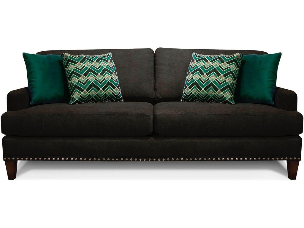 4Z0 Stationary Sofa by England at O'Dunk & O'Bright Furniture