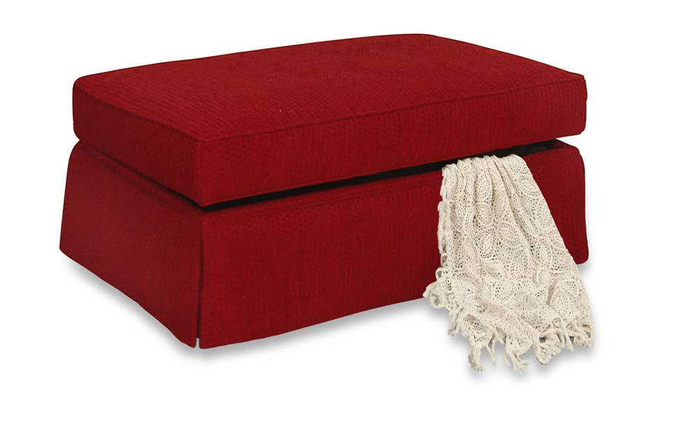 Cambria Ottoman by England at Novello Home Furnishings