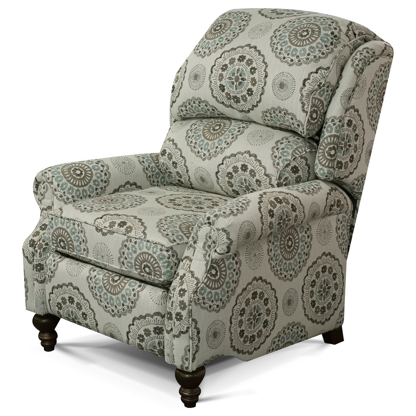 Frances Power Recliner by England at Pilgrim Furniture City