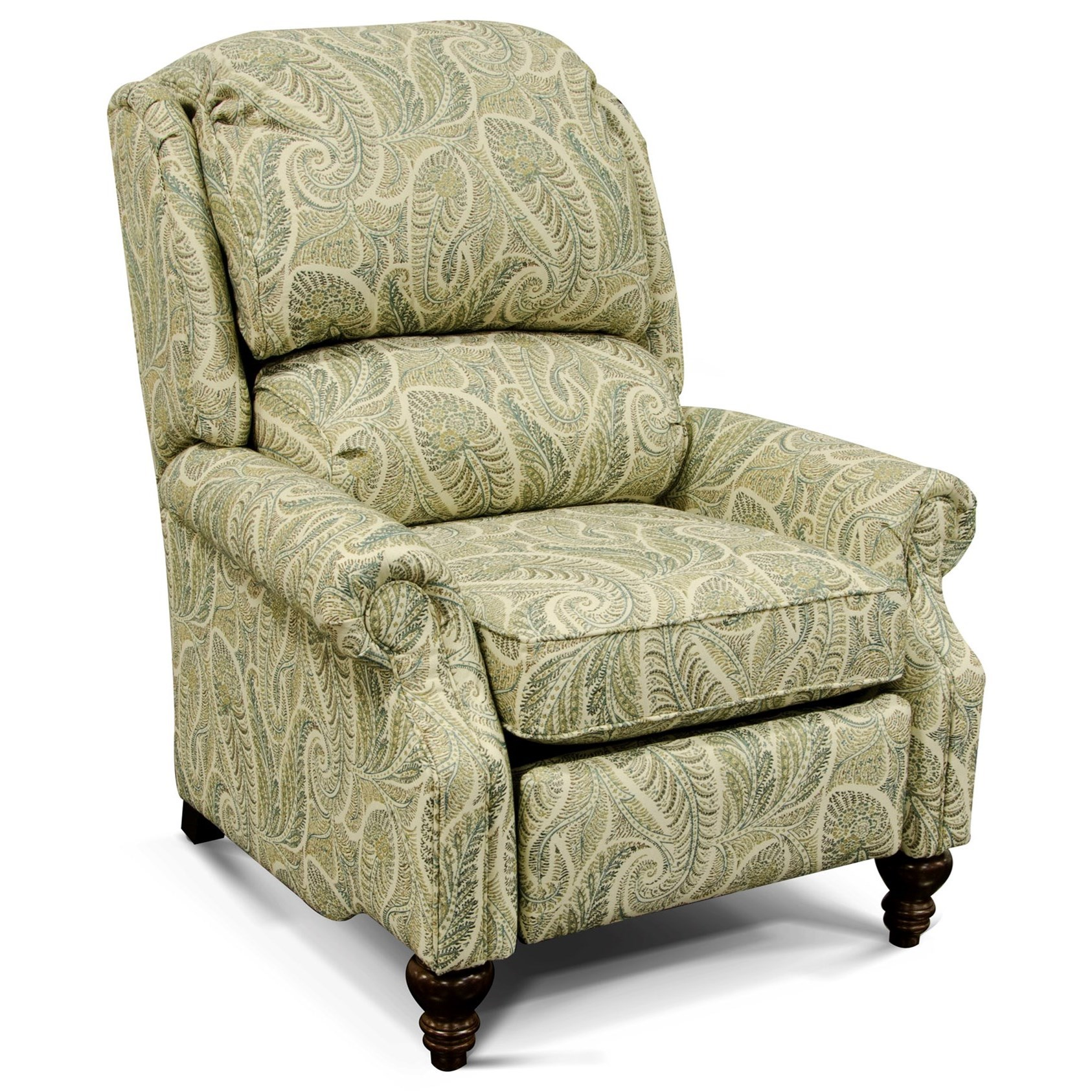 Frances Power Recliner by England at Reid's Furniture